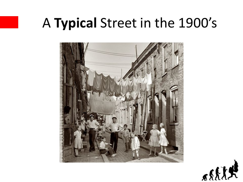 A Typical Street in the 1900s