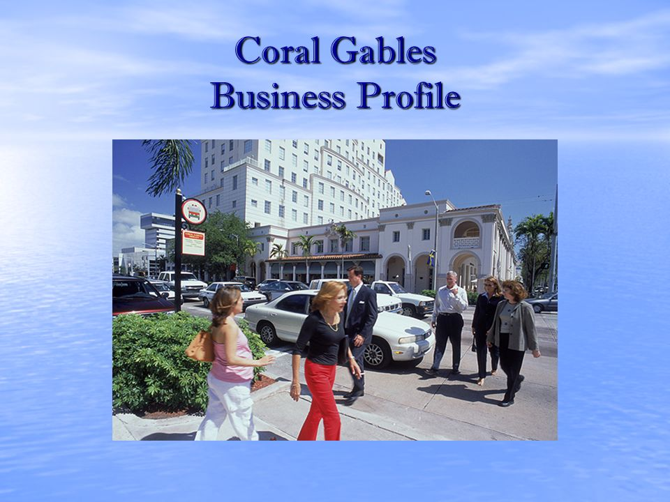 Coral Gables Business Profile