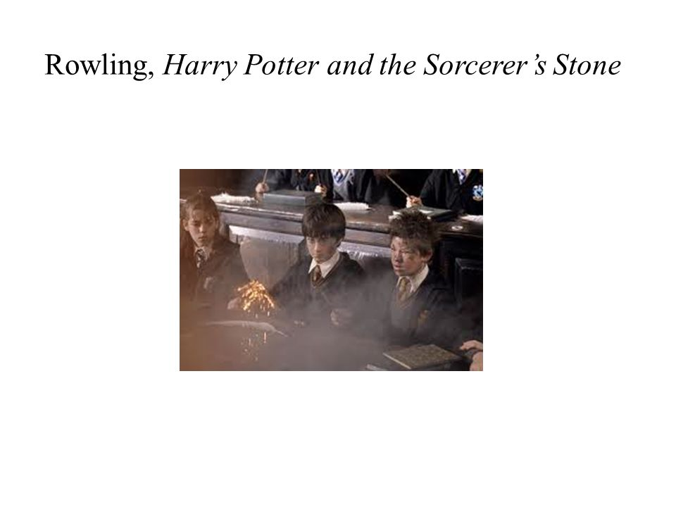 Rowling, Harry Potter and the Sorcerers Stone