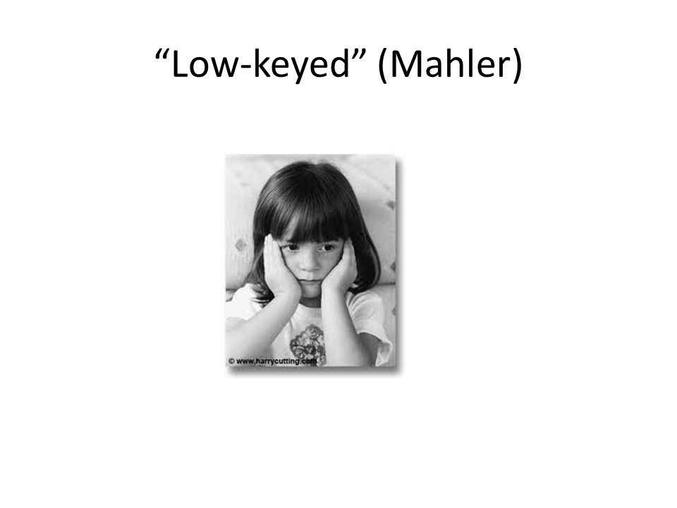 Low-keyed (Mahler)