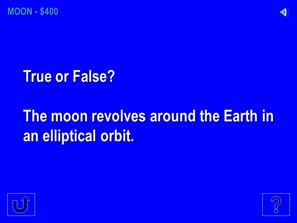 MOON - $300 Long valleys on the moon are known as _____. A.MariaB.UmbraC.Rilles D. Highlands