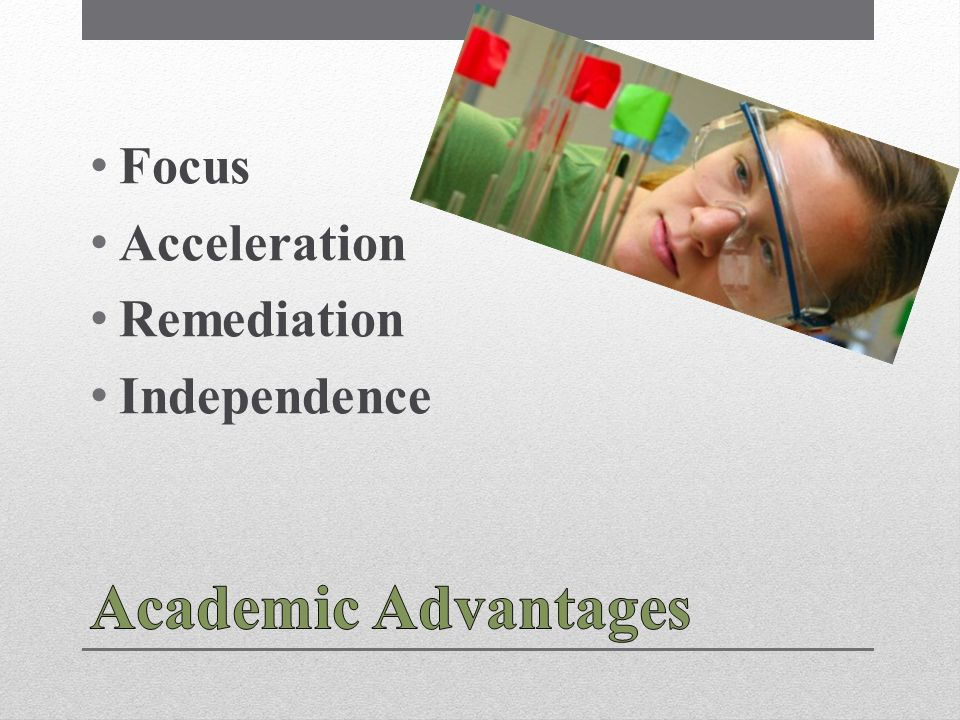 Focus Acceleration Remediation Independence