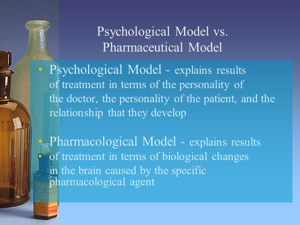 Psychological Model vs.