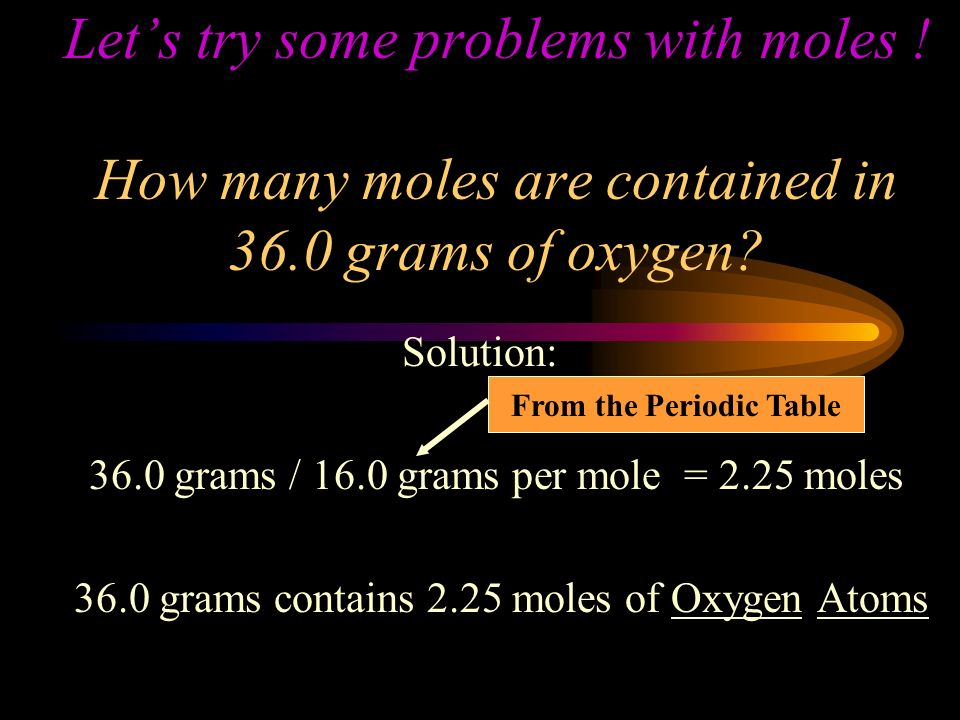 FINDING GRAM ATOMIC WEIGHTS (WT OF 1 MOLE) FIND THE ATOMIC MASS OF THE ELEMENT ON THE PERIODIC TABLE.
