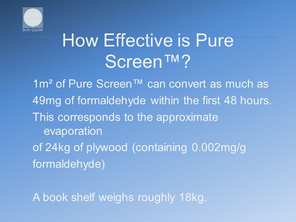 How Effective is Pure Screen.