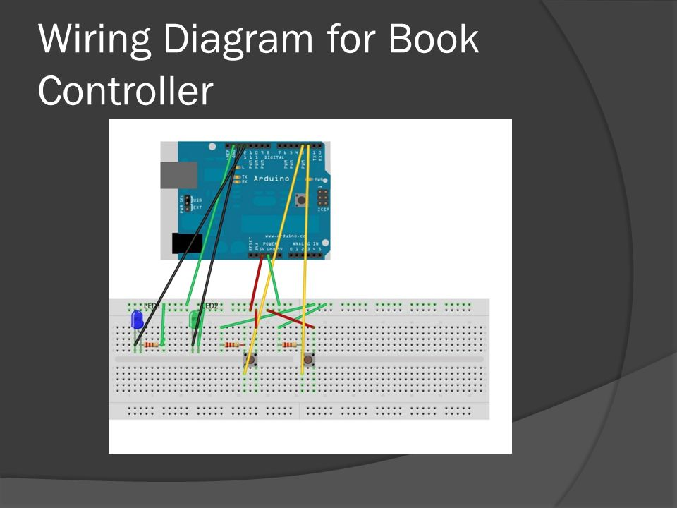 Wiring Diagram for Book Controller