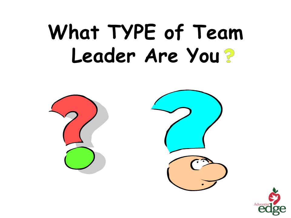 What TYPE of Team Leader Are You