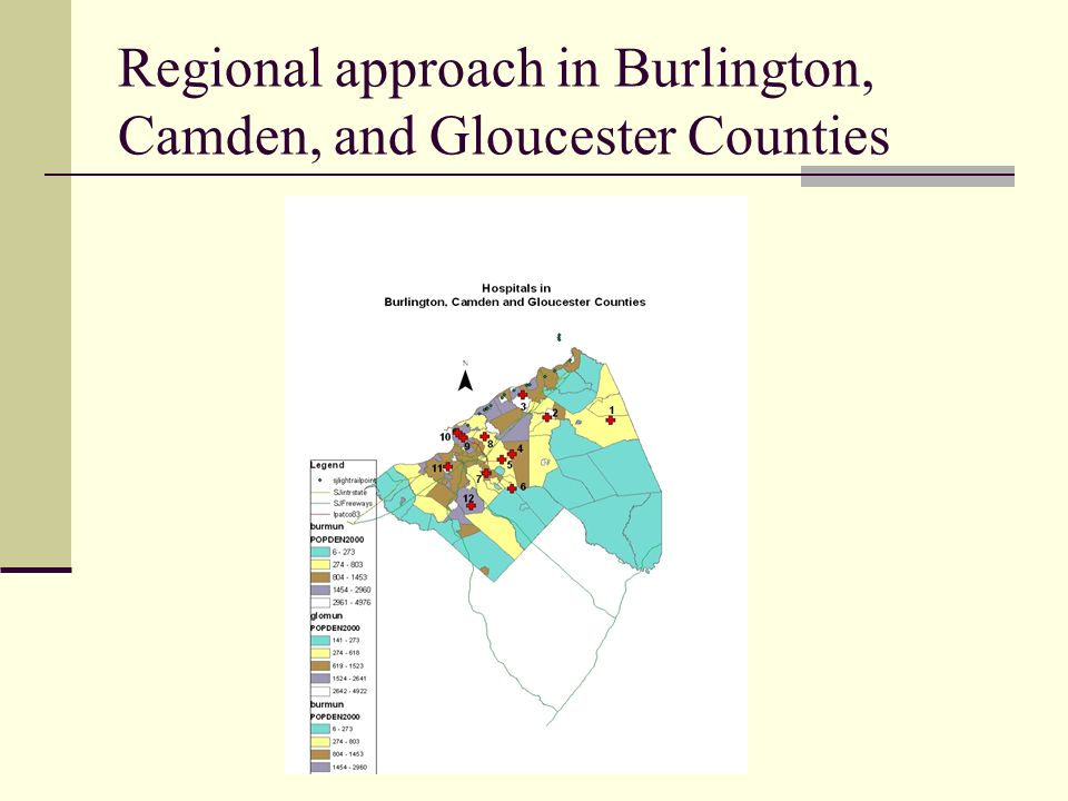 Regional approach in Burlington, Camden, and Gloucester Counties
