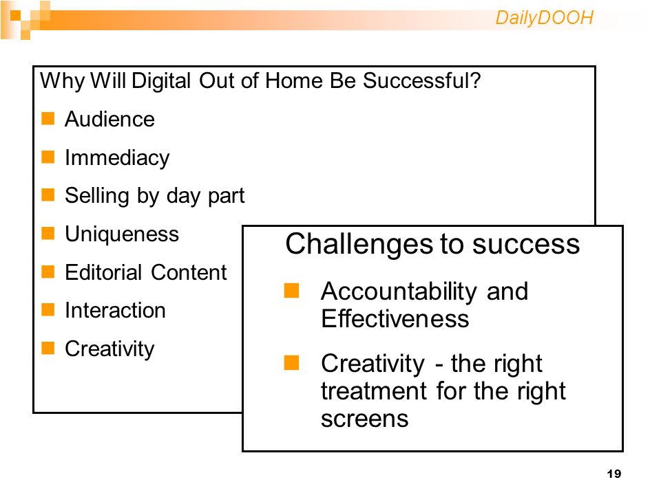 DailyDOOH 19 Why Will Digital Out of Home Be Successful.