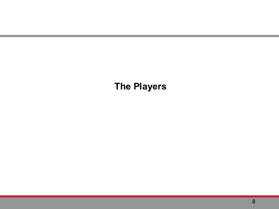 8 The Players