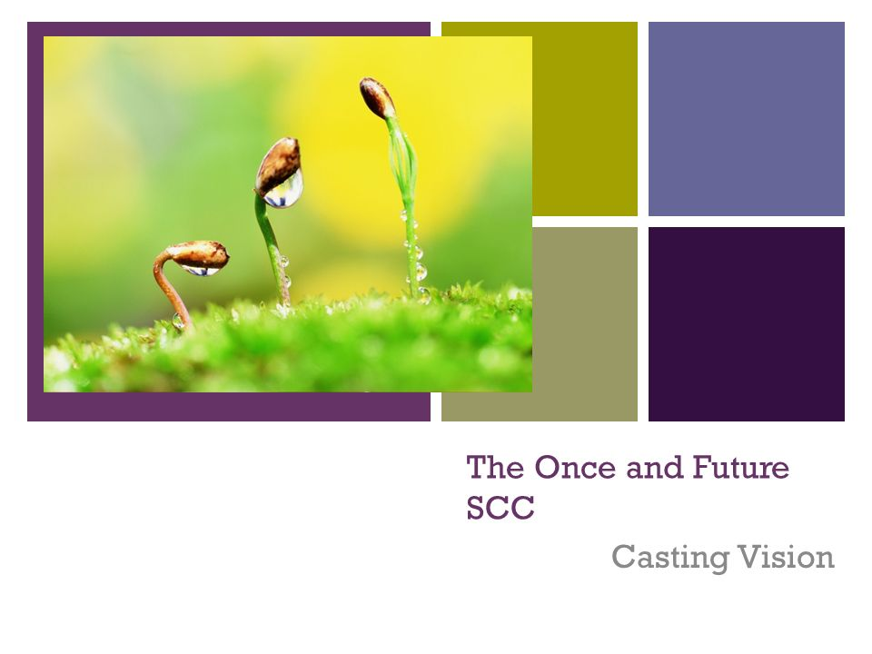+ The Once and Future SCC Casting Vision