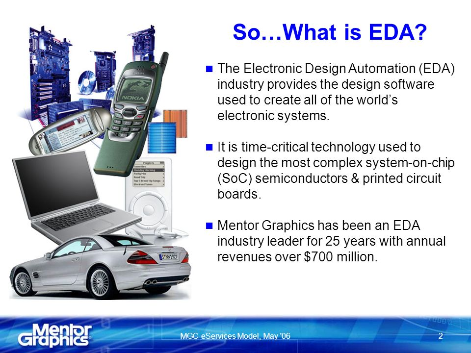 MGC eServices Model, May 062 So…What is EDA.