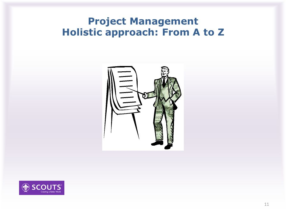Project Management Holistic approach: From A to Z 11