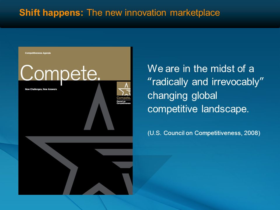 73% of senior managers reported that innovation was more important than cost reductions for long-term company success.