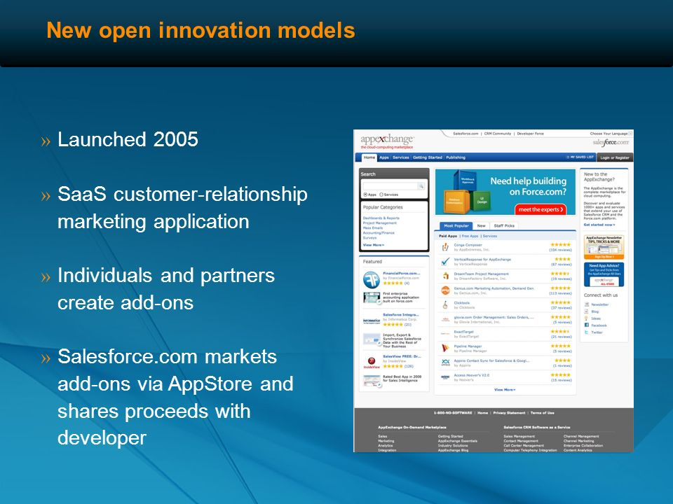 New open innovation models » Launched 2009 » Social product production » Submit ideas, crowd votes » Collaborative specs, design, prototyping, logo, marketing, etc.