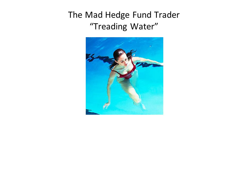 The Mad Hedge Fund Trader Treading Water Diary of a Mad Hedge Fund Trader San Francisco, October 10,