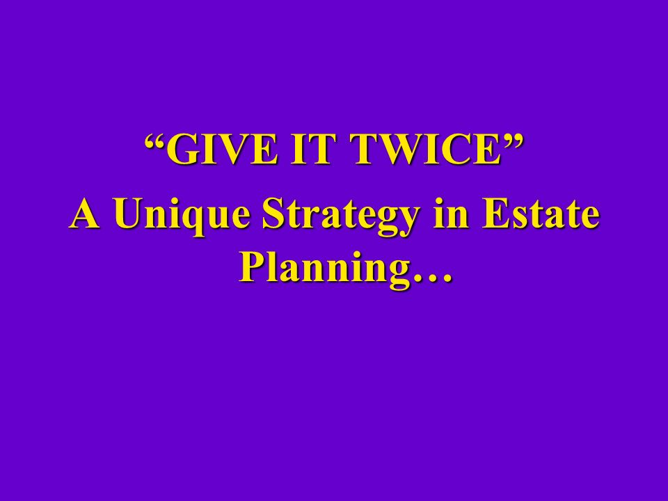 Why So Much Attention On Estate Planning These Days.