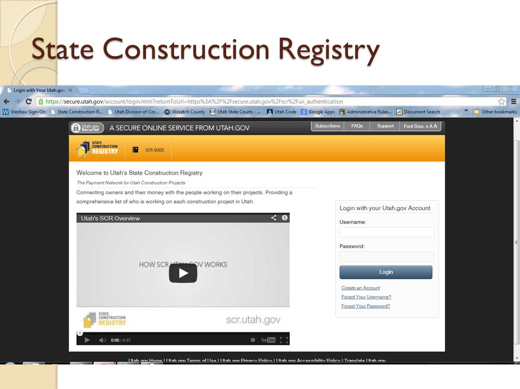 State Construction Registry Indicate the financial advantages for the customer Compare quality and price with those of the competition (c) Powell Potter PLLC.