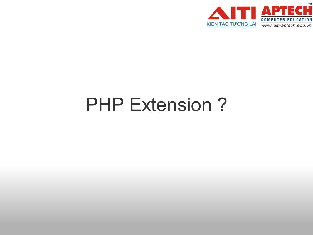 PHP Extension