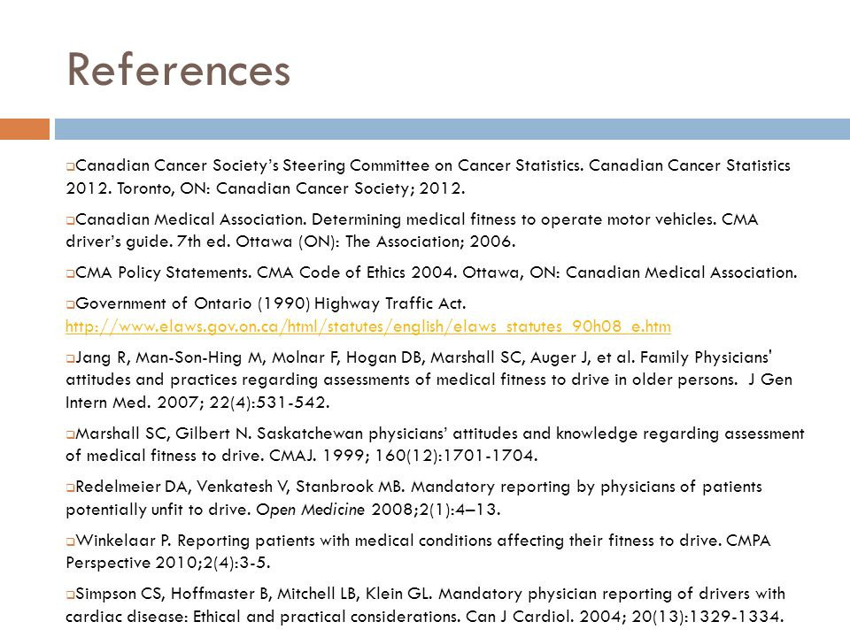 References Canadian Cancer Societys Steering Committee on Cancer Statistics.