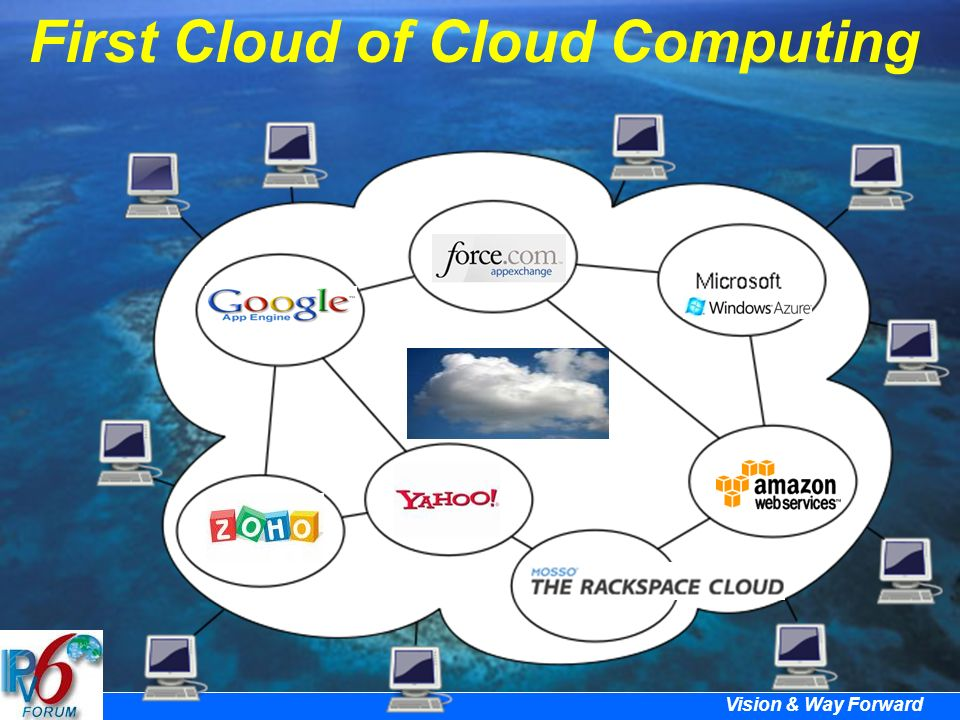 Vision & Way Forward First Cloud of Cloud Computing