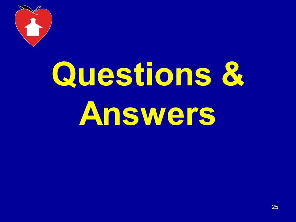 Questions & Answers 25