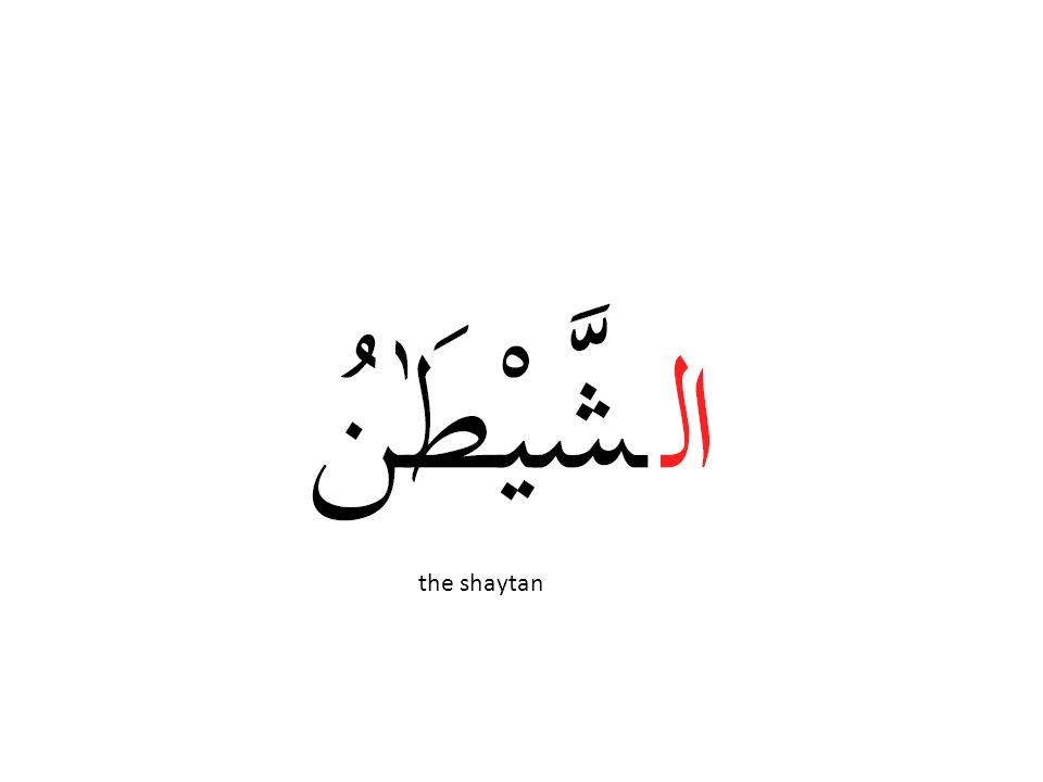 the shaytan