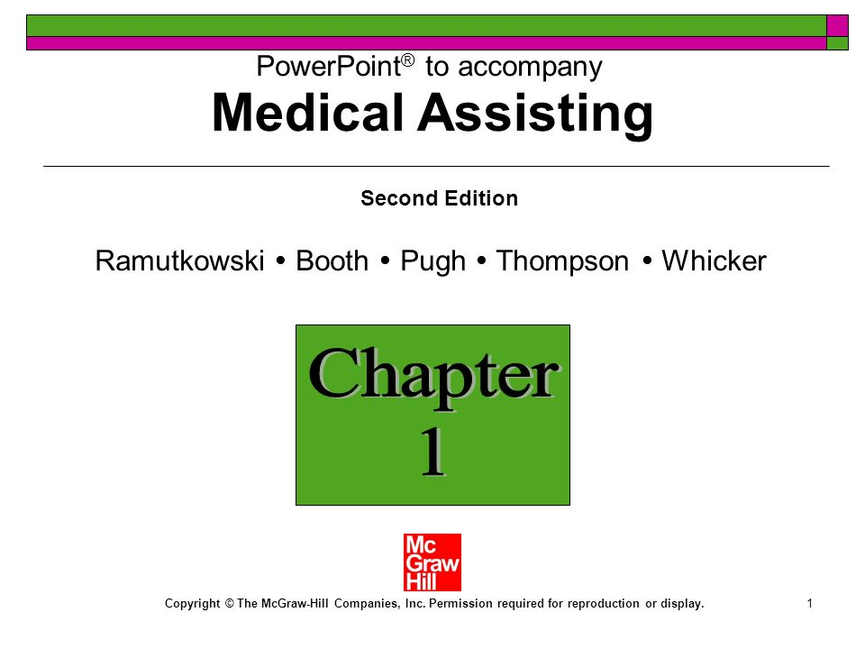 1 PowerPoint ® to accompany Second Edition Ramutkowski Booth Pugh Thompson Whicker Copyright © The McGraw-Hill Companies, Inc.