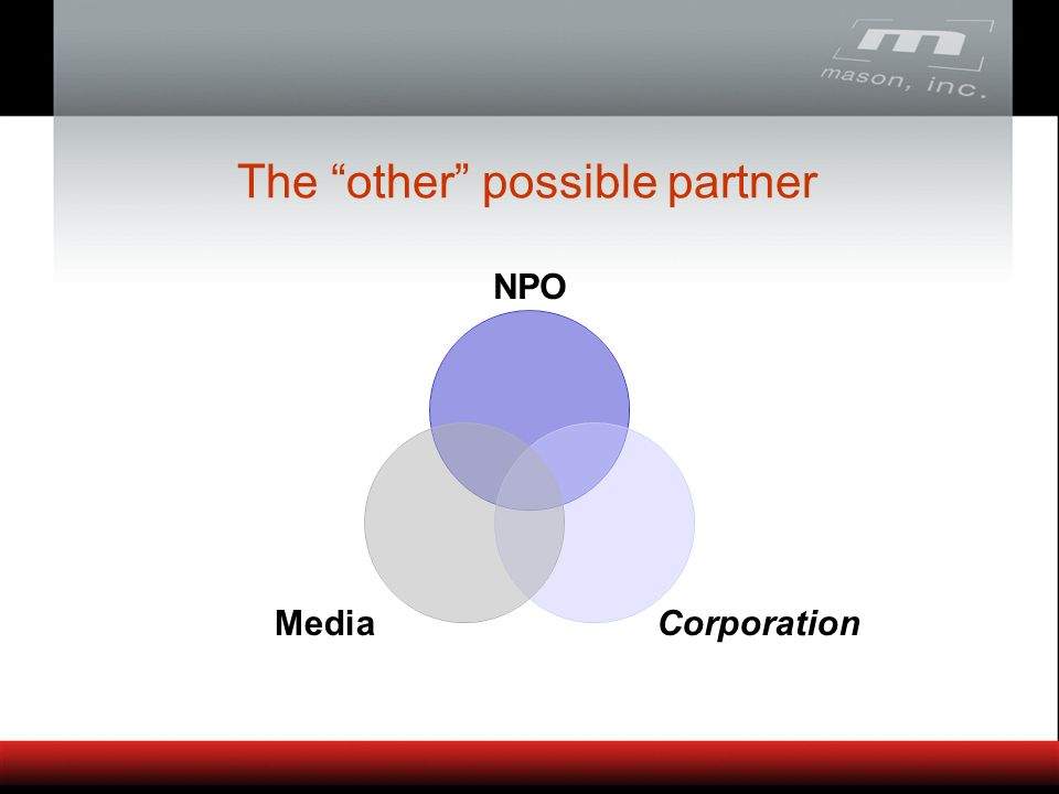 The other possible partner NPO CorporationMedia