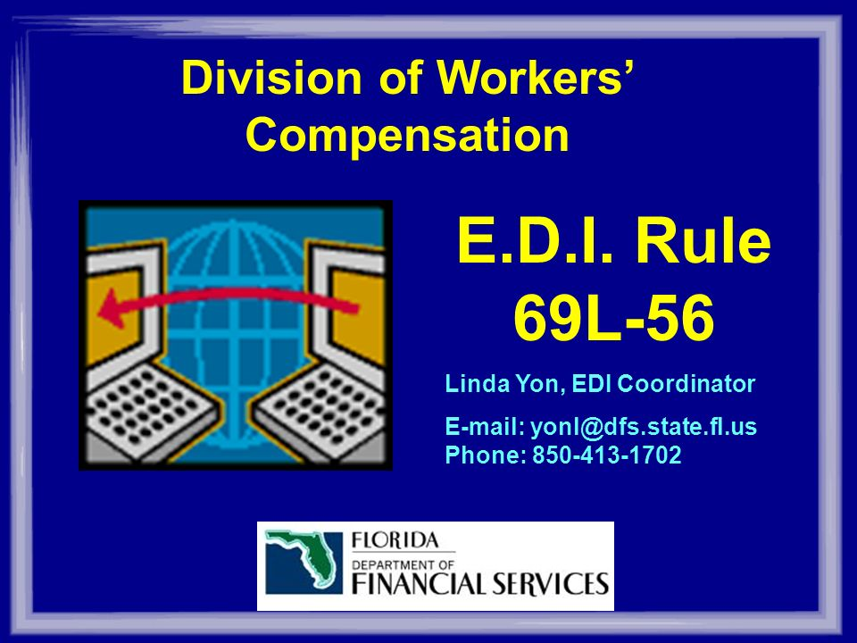 Division of Workers Compensation E.D.I.