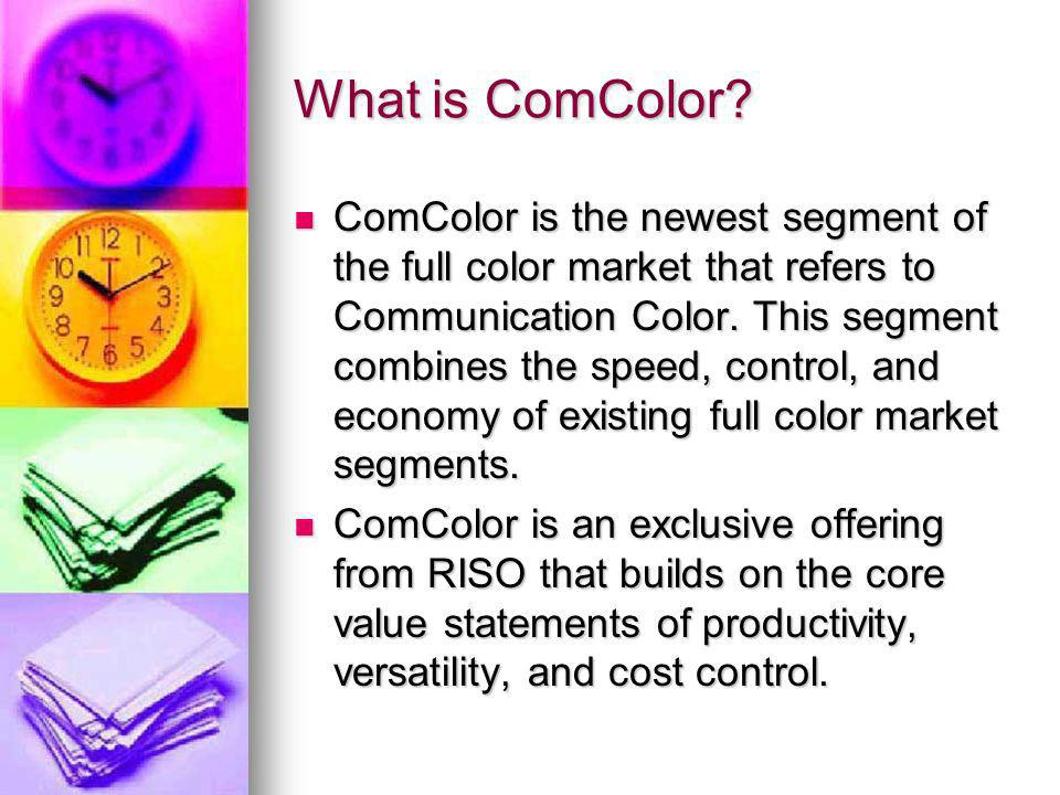 What is ComColor.