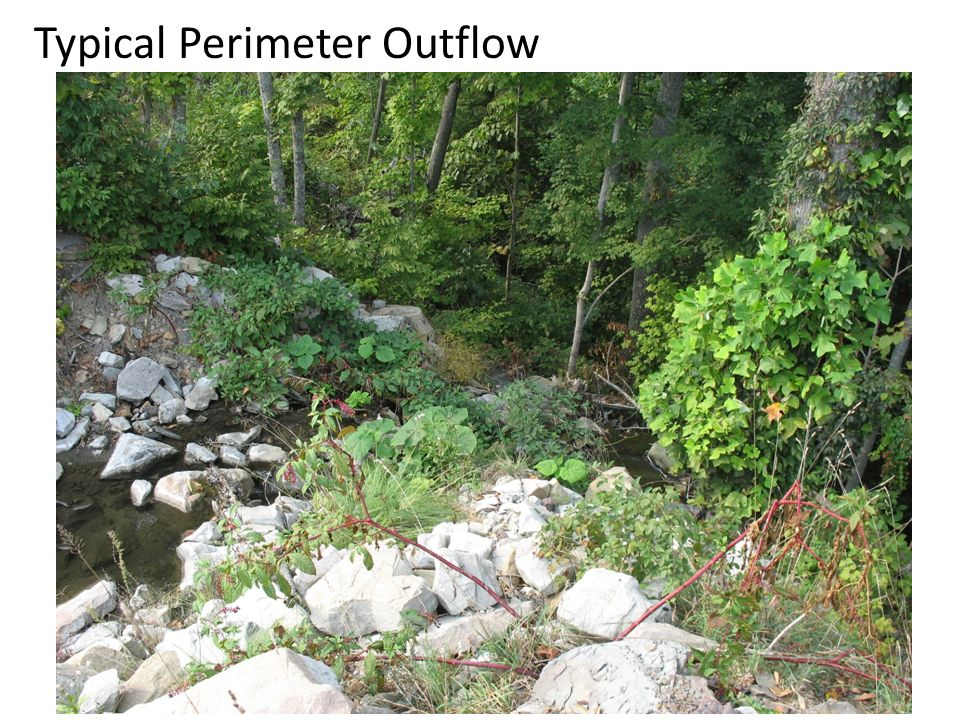 Typical Perimeter Outflow