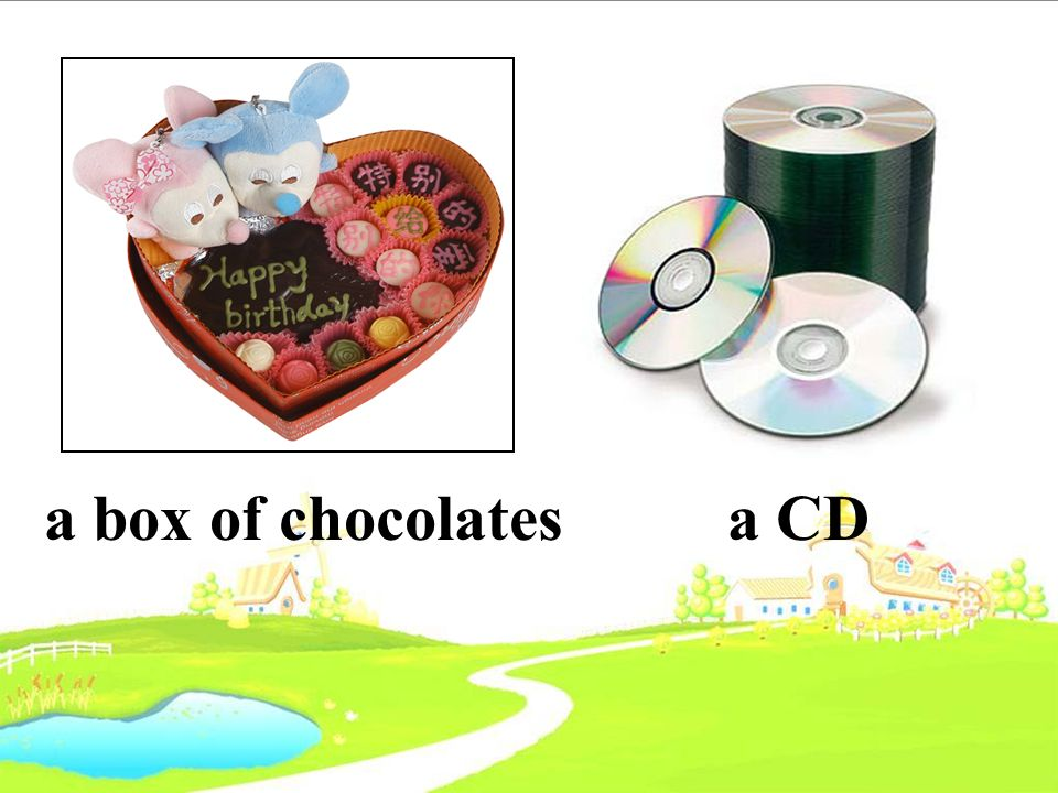 a box of chocolates a CD