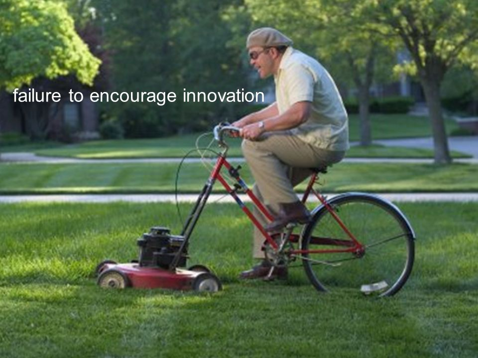 failure to encourage innovation