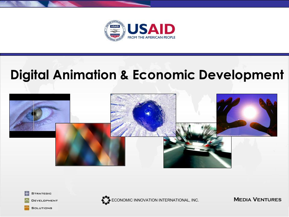 Digital Animation & Economic Development