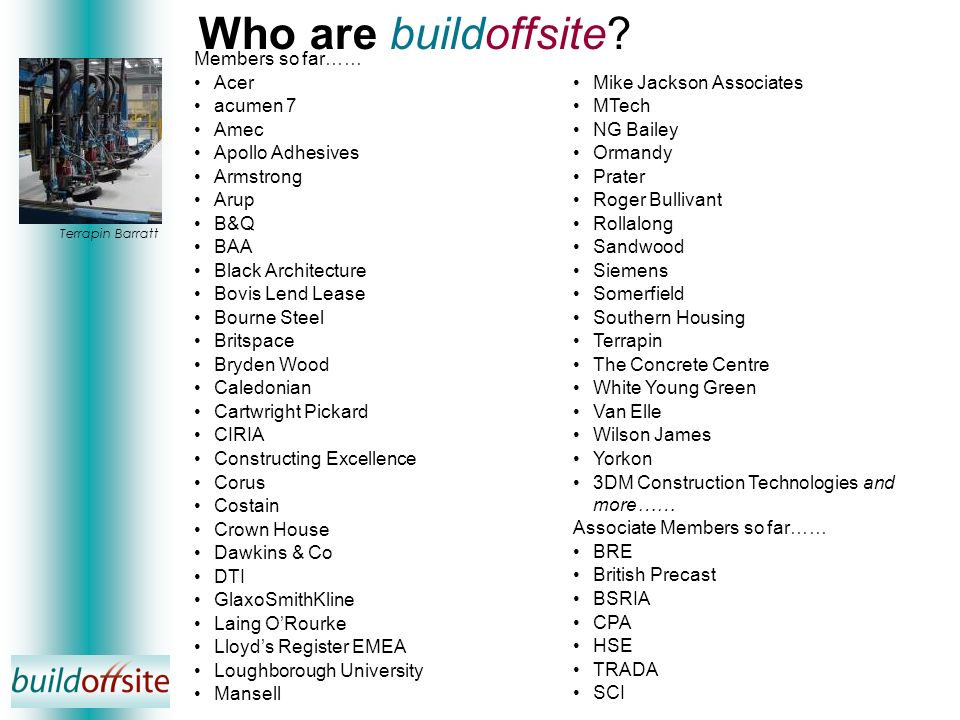 Who are buildoffsite.
