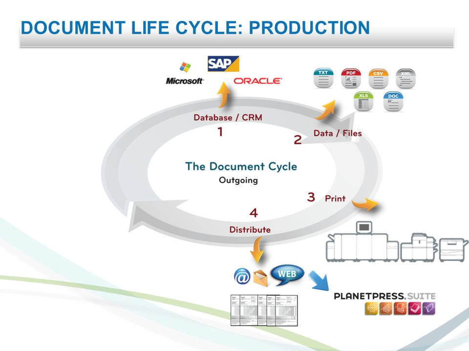 DOCUMENT LIFE CYCLE: PRODUCTION