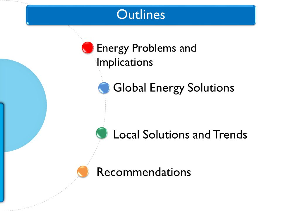 Energy Problems and Implications Global Energy Solutions Outlines Recommendations Local Solutions and Trends