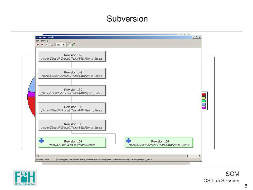 SCM CS Lab Session 6 Subversion