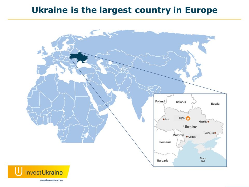 Ukraine is the largest country in Europe Kyiv Odesa