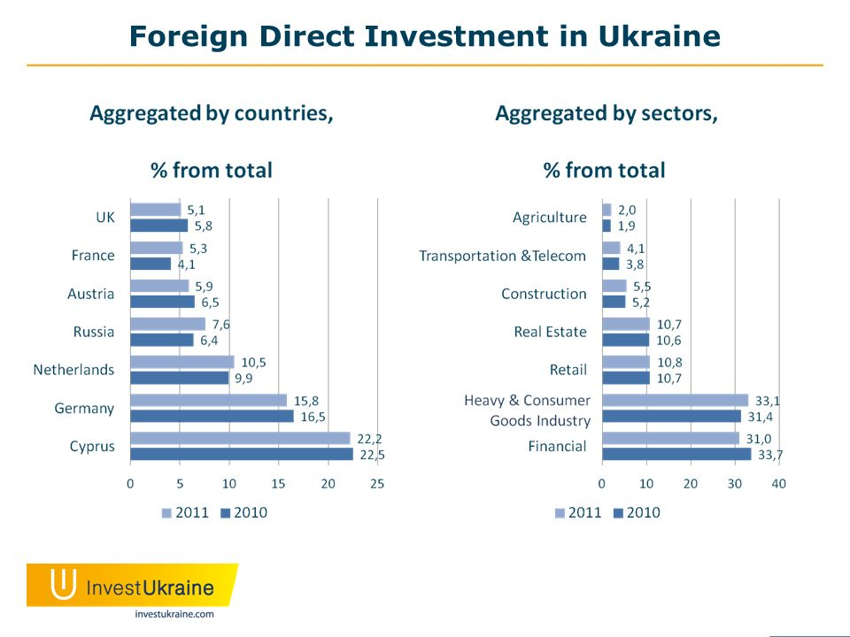Foreign Direct Investment in Ukraine