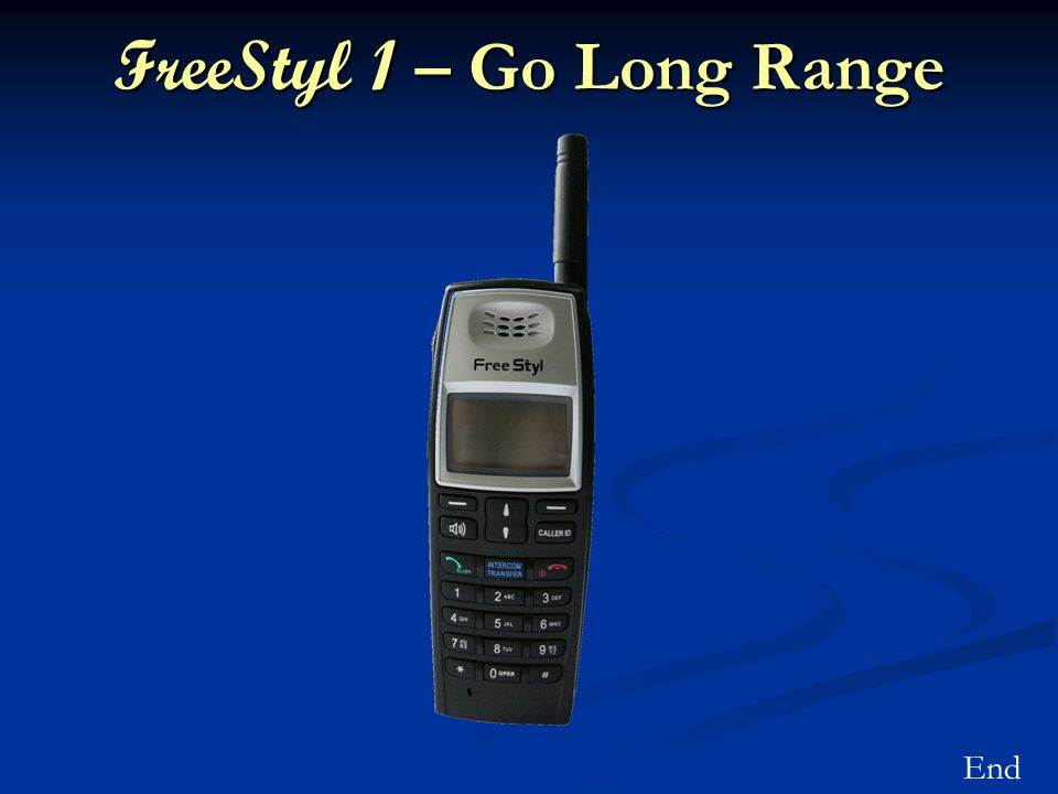 FreeStyl 1 – Go Long Range End
