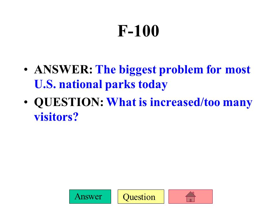 Question Answer E-500 ANSWER: the 2 factors thought to be the most harmful to biodiversity today QUESTION: What are habitat destruction and invasion by non-native species