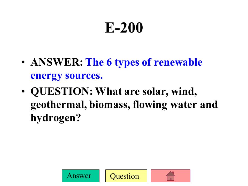 Question Answer E-100 ANSWER: The 2 major concerns about nuclear energy.