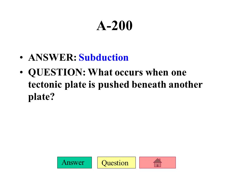 Question Answer A-100 ANSWER: It shows how rocks are formed by changing from one type to another.