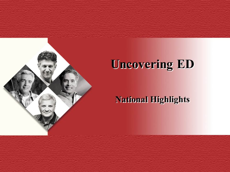 Uncovering ED National Highlights