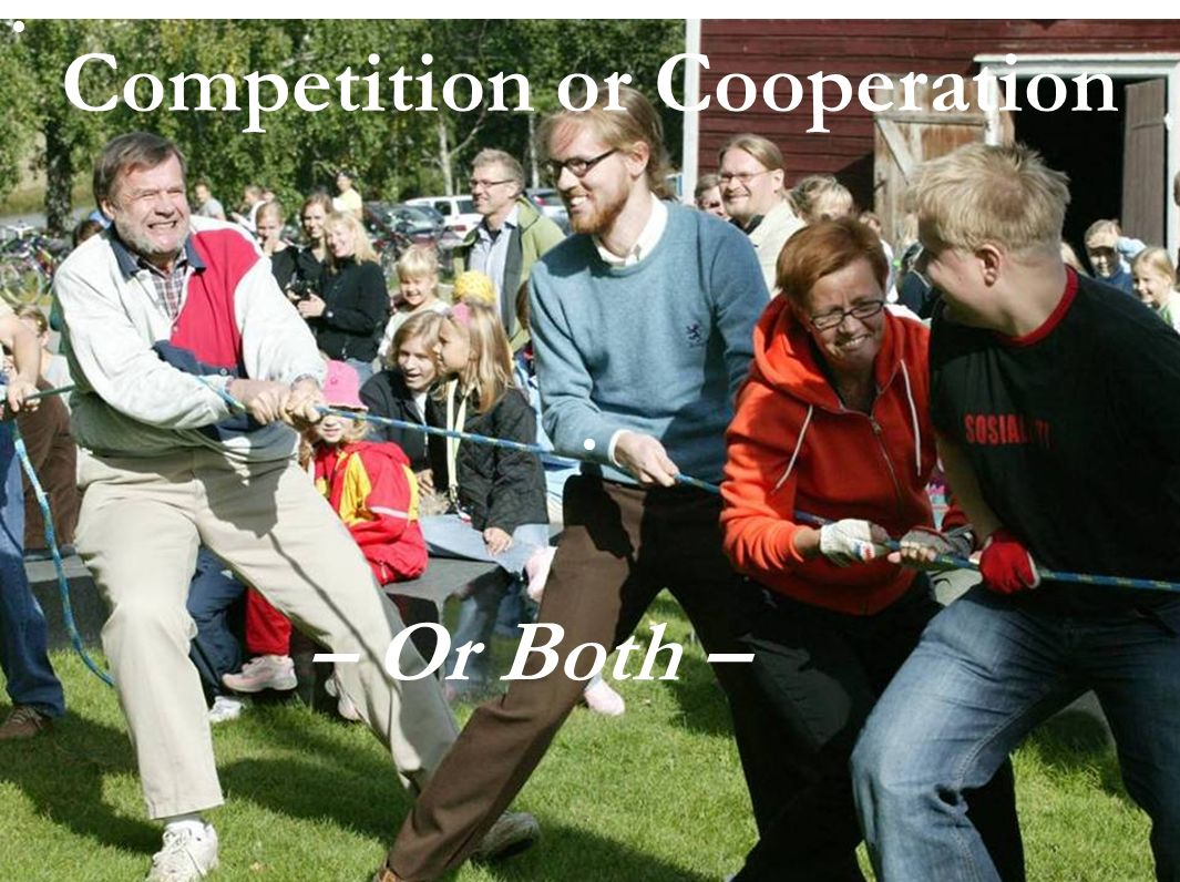 slide 17 Competition or Cooperation – Or Both –