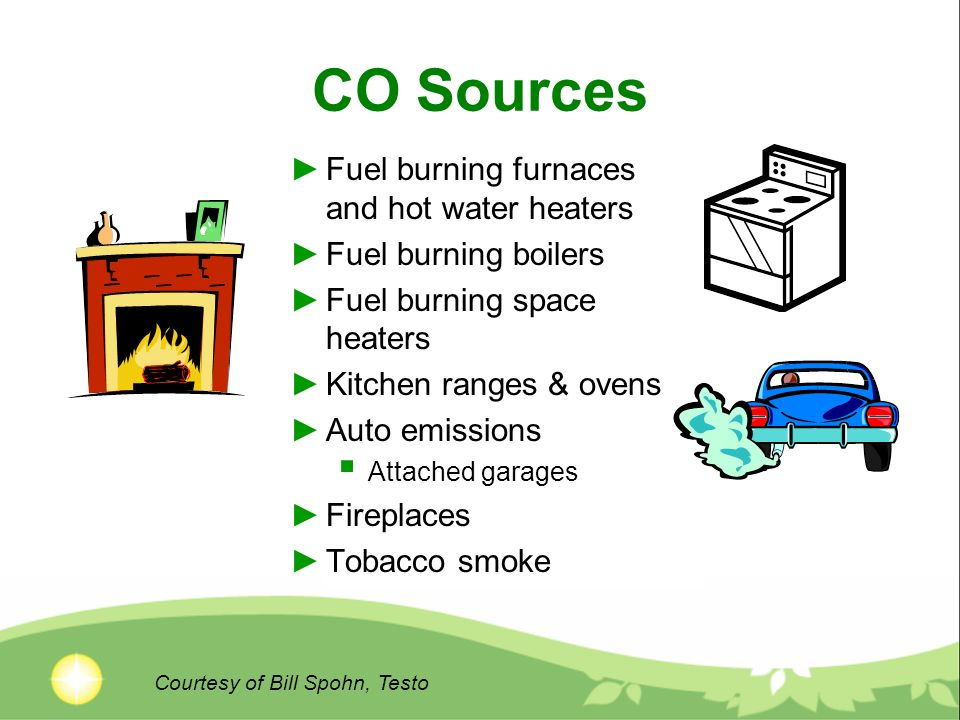 What is Carbon Monoxide . CO originates from incompletely (oxidized) burnt carbon (fuel).