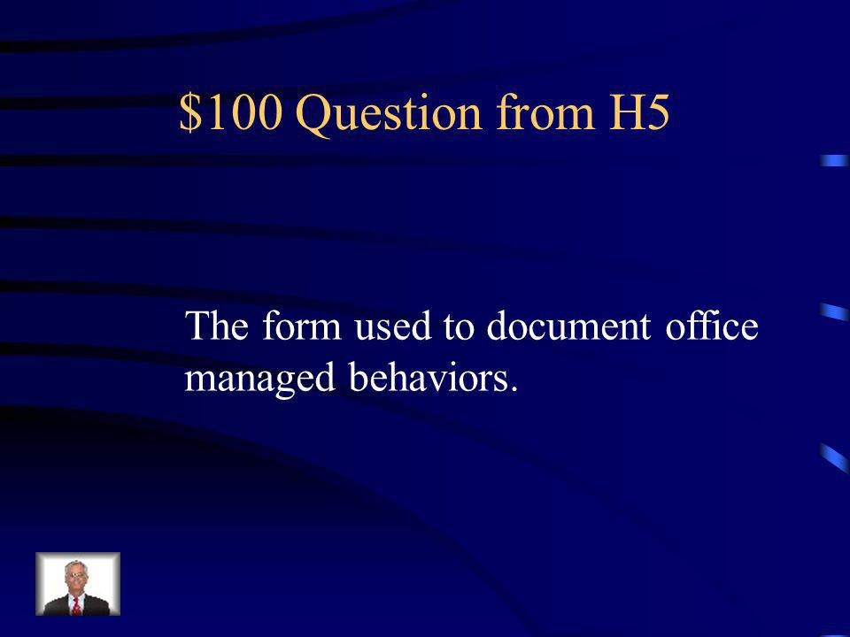 $500 Answer from H4 What are Weapons