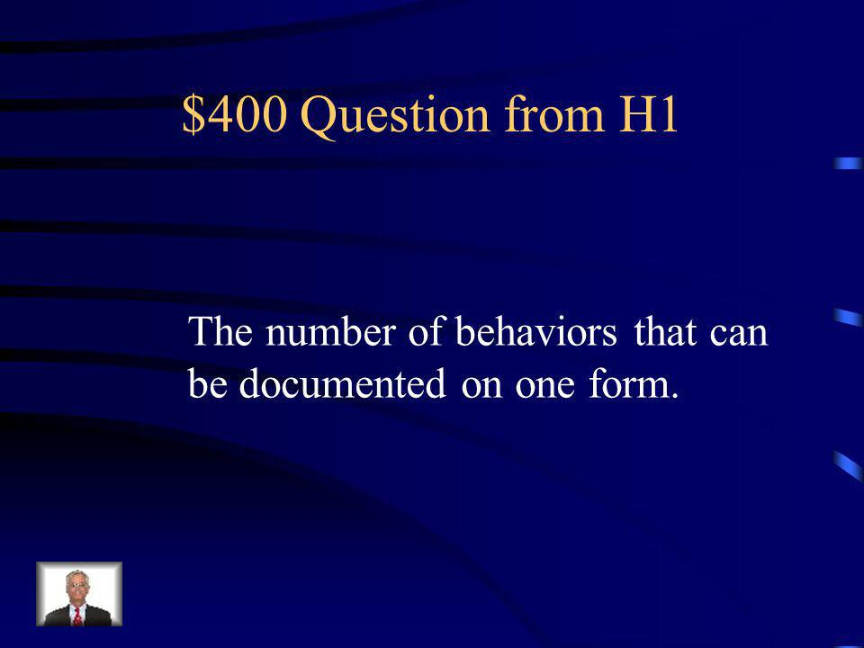 $300 Answer from H1 Who are all faculty and staff members